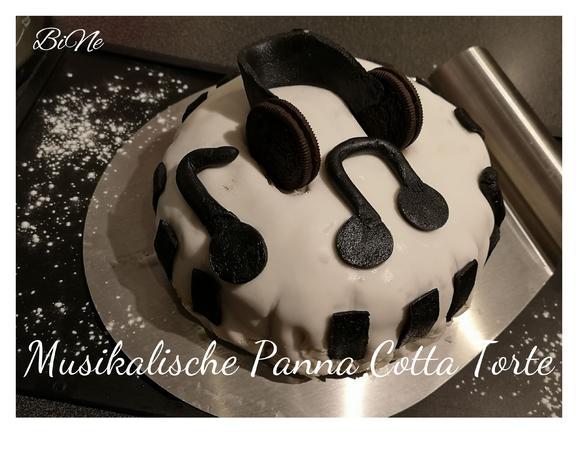 BiNe` S MUSIKALISCHE PANNA COTTA TORTE - Rezept - Bild Nr. 7697