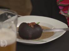 Maronencremesuppe mit Portweinpflaume - Rezept - Bild Nr. 2