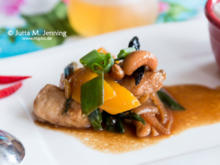Thailändisches Stir fried Cashew Nut with Chicken - Rezept - Bild Nr. 7695