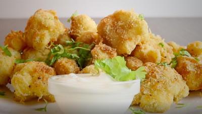 Rezept: Käseblumen-Kohl-Nuggets