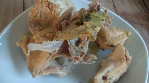 Geflügelfrikassee aus Geflügelsuppe - Fond - Rezept - Bild Nr. 7691