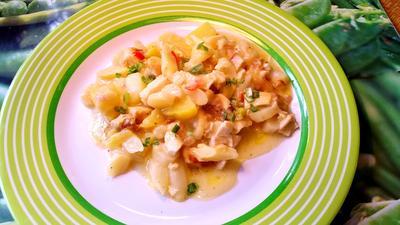 Spargel-Auflauf mit Hühnerbrüstchen - Rezept - Bild Nr. 7696