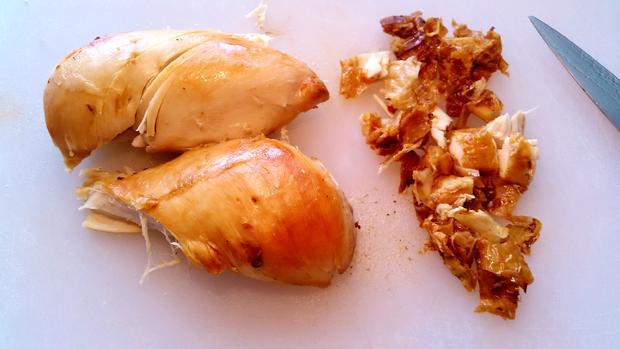 Spargel-Auflauf mit Hühnerbrüstchen - Rezept - Bild Nr. 7697