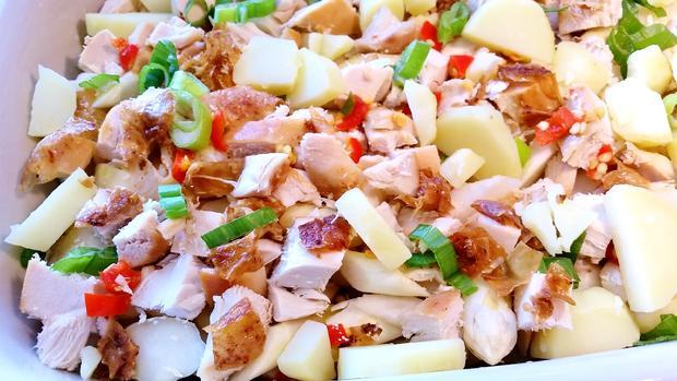 Spargel-Auflauf mit Hühnerbrüstchen - Rezept - Bild Nr. 7700