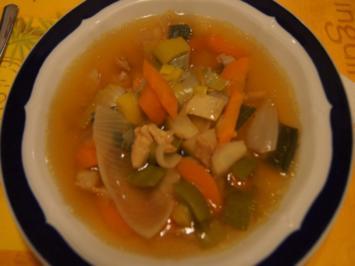 Hühner-Gemüse-Suppe XXL - Rezept - Bild Nr. 2