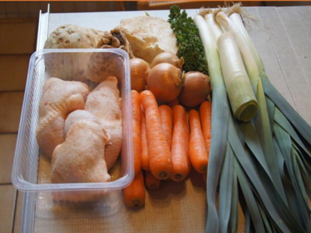 Hühner-Gemüse-Suppe XXL - Rezept - Bild Nr. 3