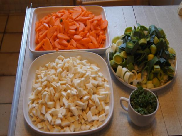 Hühner-Gemüse-Suppe XXL - Rezept - Bild Nr. 5