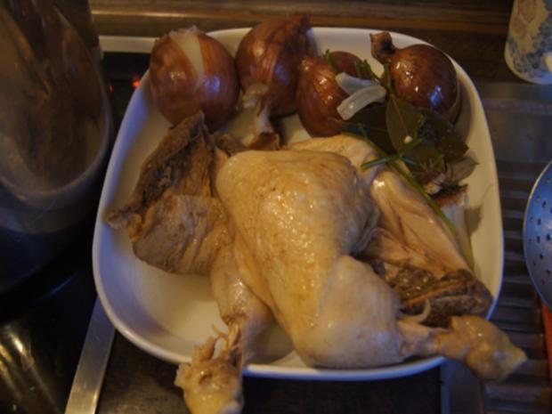 Hühner-Gemüse-Suppe XXL - Rezept - Bild Nr. 6