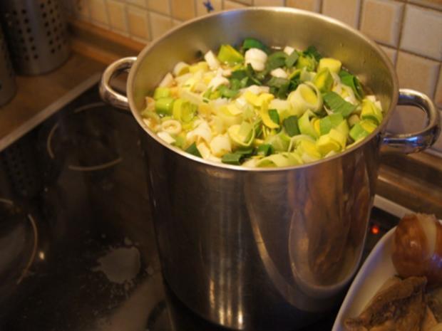 Hühner-Gemüse-Suppe XXL - Rezept - Bild Nr. 11