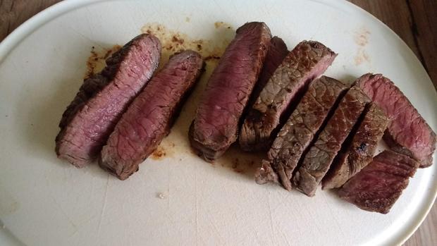 Mediterranes Steak mit Bohnenpüree - Rezept - Bild Nr. 7721