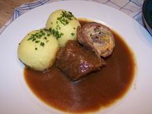 Rinder Rouladen gefüllt ,Knödel m. Brokkala - Rezept - Bild Nr. 7710