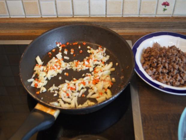 Chili con Carne mit pikanten Dip - Rezept - Bild Nr. 7
