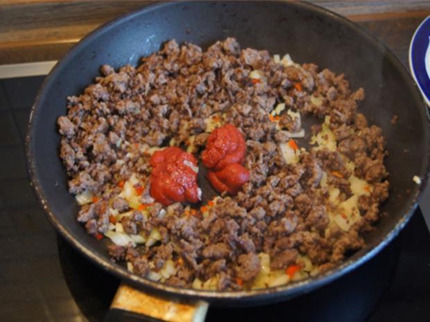 Chili con Carne mit pikanten Dip - Rezept - Bild Nr. 8