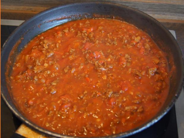 Chili con Carne mit pikanten Dip - Rezept - Bild Nr. 10