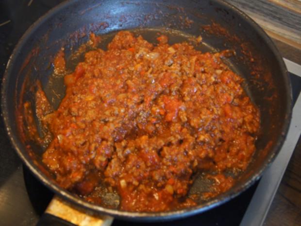 Chili con Carne mit pikanten Dip - Rezept - Bild Nr. 11