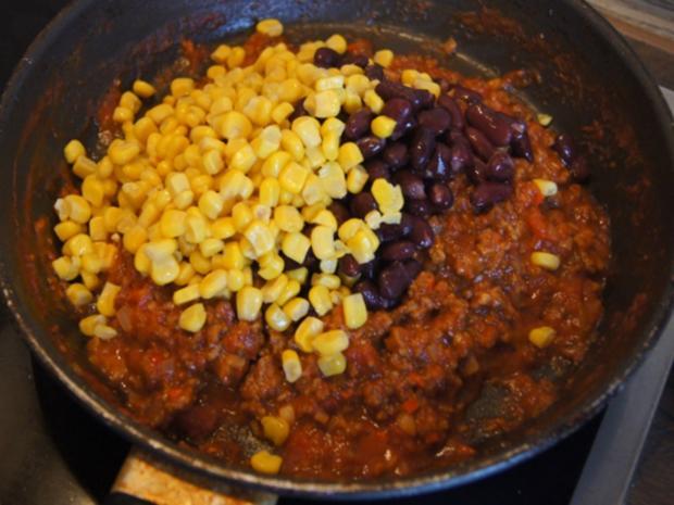 Chili con Carne mit pikanten Dip - Rezept - Bild Nr. 13