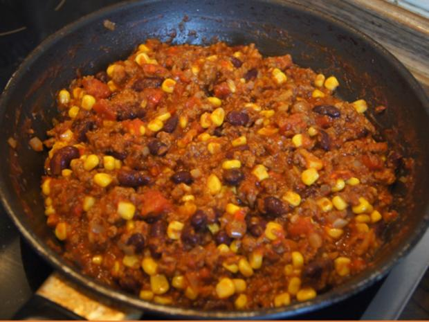 Chili con Carne mit pikanten Dip - Rezept - Bild Nr. 14