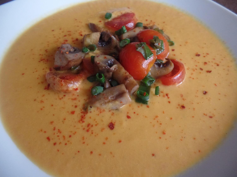 Thai-Currysuppe - Rezept mit Bild