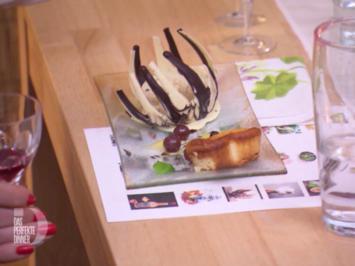 Rezept: Käsekokosküchlein mit Maracujaeis im Schokonest