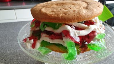"""Rezept: Biggi`s  """"Götter Burger"""" auch """"chaosburger"""" = Kochbar Challenge 2.0 (März 2019)"""