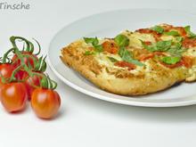 Dinkel-Tomaten-Drei-Käse-Pizza - Rezept - Bild Nr. 7765