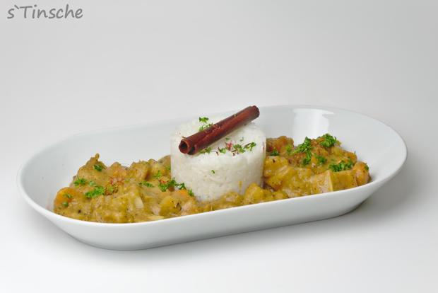 Maniok-Süßkartoffel-Kochbananencurry - Rezept - Bild Nr. 7755
