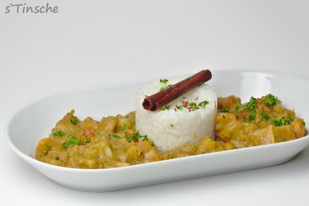 Maniok-Süßkartoffel-Kochbananencurry - Rezept - Bild Nr. 7756