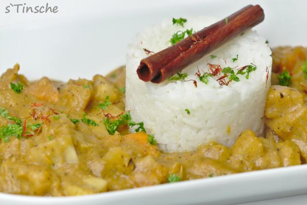 Maniok-Süßkartoffel-Kochbananencurry - Rezept - Bild Nr. 7758