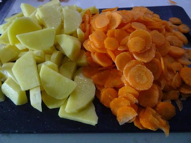Kartoffel-Möhren-Auflauf mit Kasseler - Rezept - Bild Nr. 7762