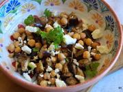 Mediterraner Auberginen-Kichererbsen-Salat - Rezept - Bild Nr. 7792
