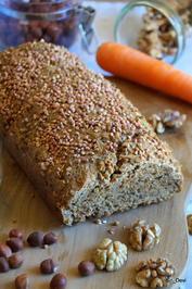 Brot mit Nüssen und Karotte - Rezept - Bild Nr. 2