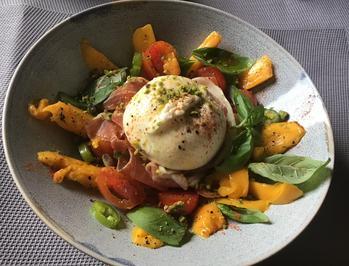 Burrata Parmaschinken Mango Tomate Basilikum - Rezept - Bild Nr. 7756