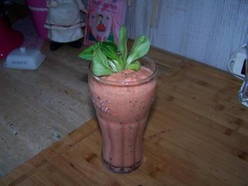 Buntes Gemüse im Blender , erster Versuch - Rezept - Bild Nr. 7756