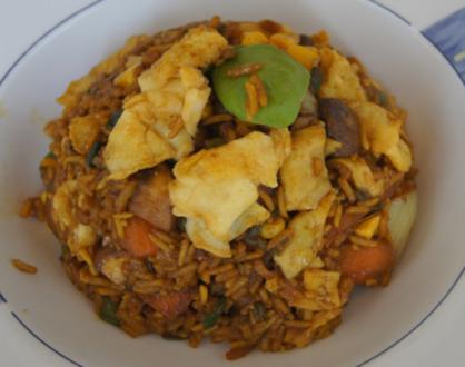 Gebratener Gemüse-Eier-Reis - Rezept - Bild Nr. 7756