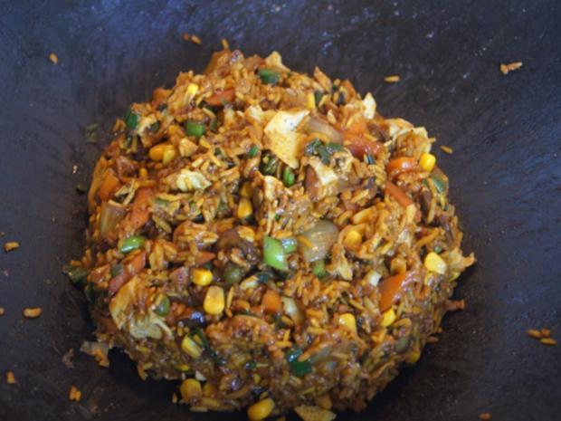 Gebratener Gemüse-Eier-Reis - Rezept - Bild Nr. 7769