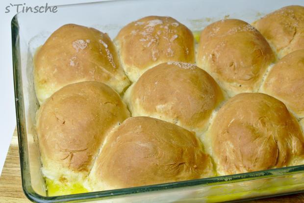 Hähnchen-Bolognese mit Mozzarella-Dampfnudeln - Rezept - Bild Nr. 7772