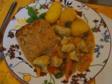 Schlemmerfilet mit Gemüsecurry und Kartoffeln - Rezept - Bild Nr. 2