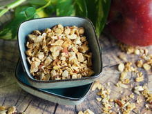 Frühstück, Knuspermüsli: Apfel-Granola - Rezept - Bild Nr. 2