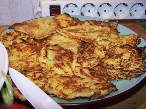 Kartoffelsuppe mit Einlage und Beilage - Rezept - Bild Nr. 7785