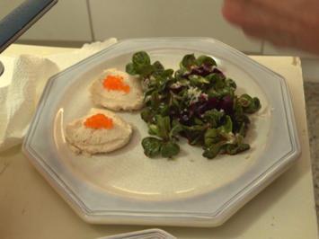 Rote Bete-Feldsalat mit Forellen-Mousse und Süßkartoffel-Semmeln - Rezept - Bild Nr. 7787