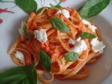 Bavette mit frischer Tomatensauce - Rezept - Bild Nr. 7787