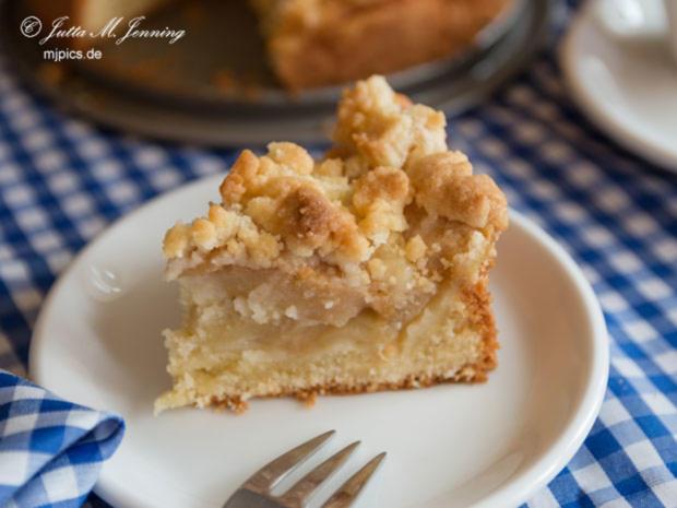 Kleiner Apfelkuchen mit Butterstreuseln - Rezept - Bild Nr. 7787