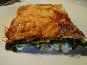 Spinat-Lasagne mit Schafskäse - Rezept - Bild Nr. 7823