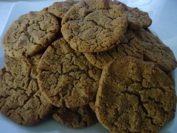 Erdnussbutter-Cookies - Rezept - Bild Nr. 2