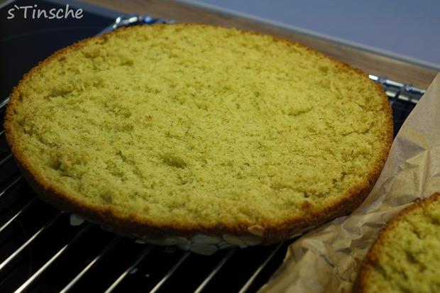 Pistazien-Himbeer-Sahne-Torte - Rezept - Bild Nr. 7845