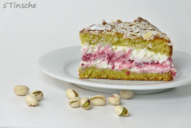 Pistazien-Himbeer-Sahne-Torte - Rezept - Bild Nr. 7864