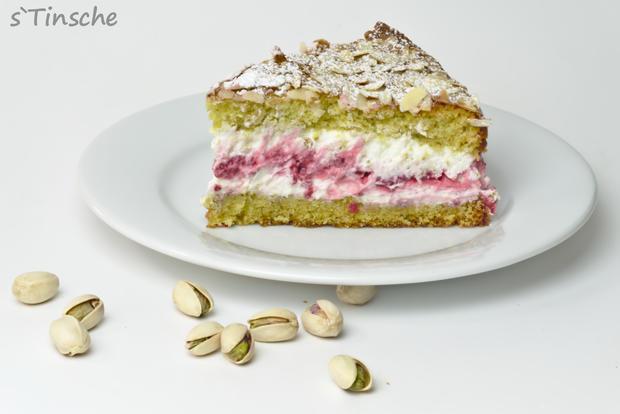 Pistazien-Himbeer-Sahne-Torte - Rezept - Bild Nr. 7866