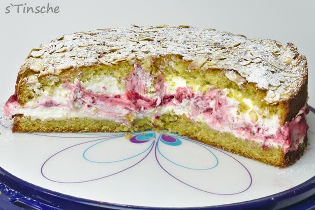 Pistazien-Himbeer-Sahne-Torte - Rezept - Bild Nr. 7868