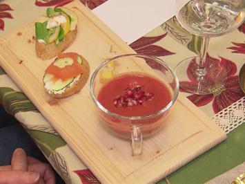 Rote Bete Suppe trifft Granatapfel - Rezept - Bild Nr. 2