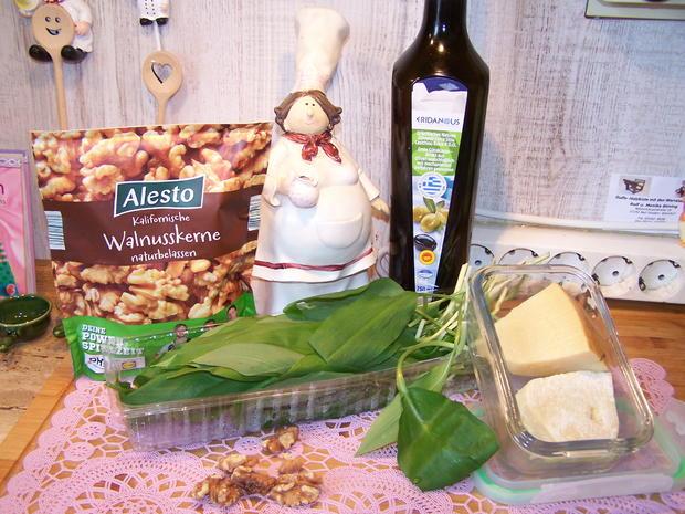 Bärlauch-Pesto - Rezept - Bild Nr. 7829